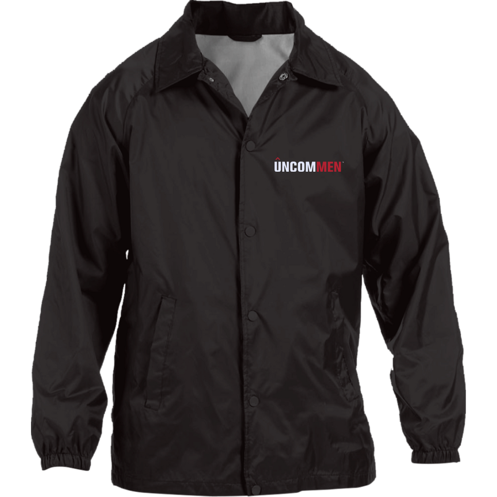 UNCOMMEN Logo - Nylon Staff Jacket