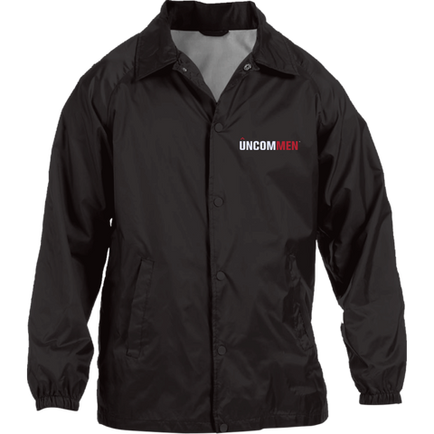 Image of UNCOMMEN Logo - Nylon Staff Jacket