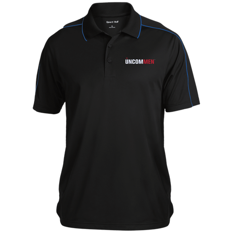 Image of UNCOMMEN Logo - Micropique Sport-Wick Piped Polo