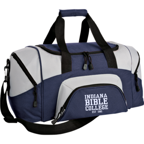 Small Colorblock Sport Duffel Bag - Kick Merch - 4