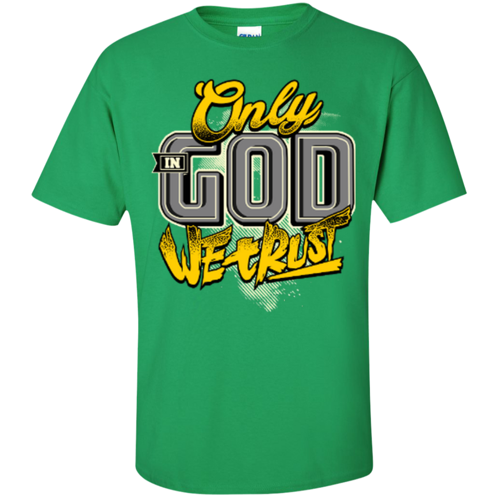 Only In God We Trust - Apostolic Images - Cotton T-Shirt - Kick Merch - 8