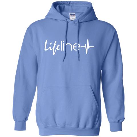 Image of LIFE Line Pullover Hoodie