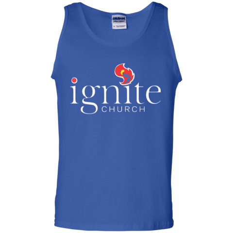 Image of IGNITE church - Cotton Tank Top - Kick Merch - 4