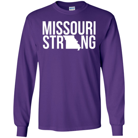 Image of MO Strong - Long Sleeve T shirt - Kick Merch - 8