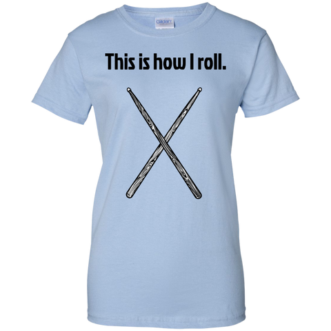 Image of This is how I Roll - Ladies  Cotton T-Shirt  - Purple Bee Designs - Kick Merch - 5