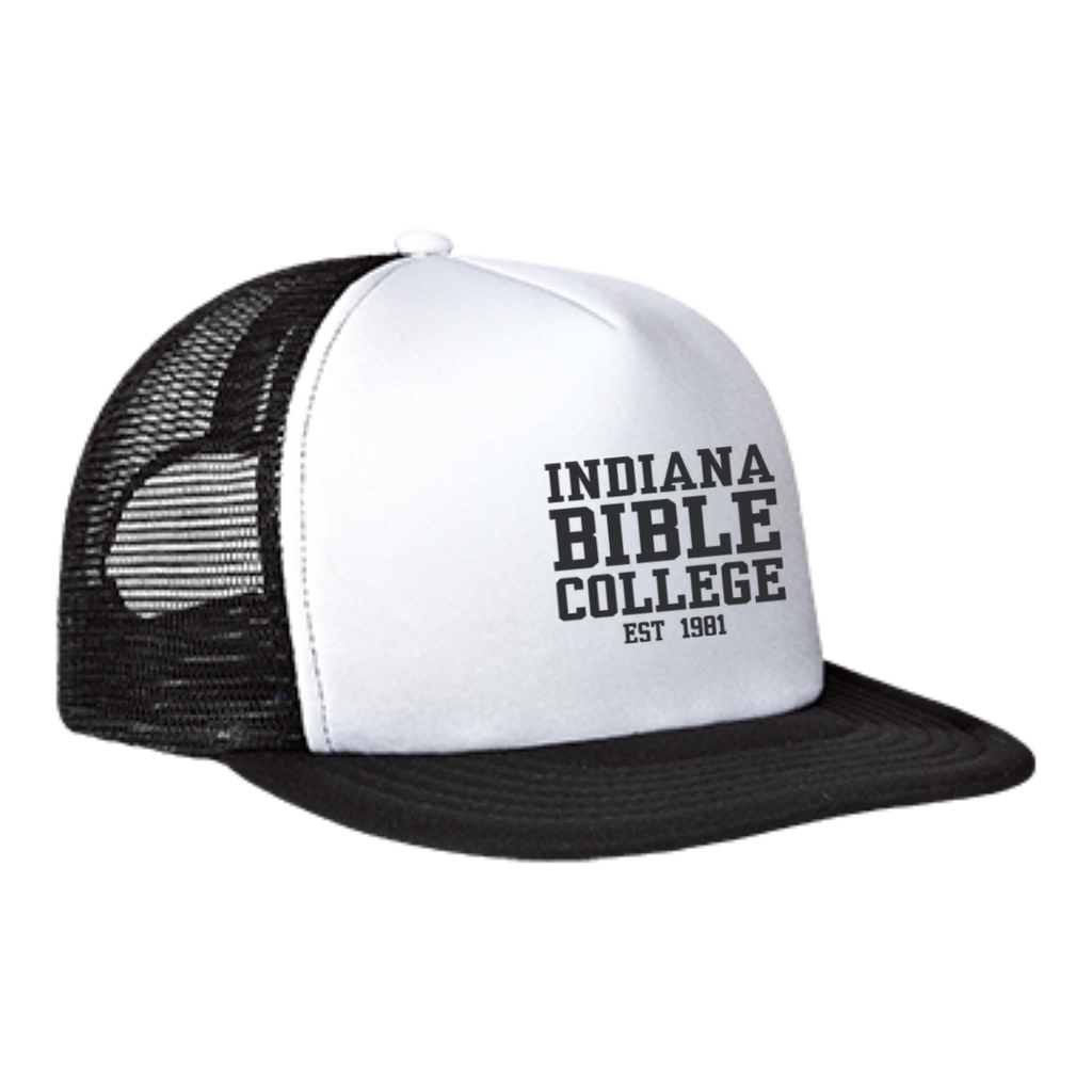 IBC - Clean Text - Trucker Hat with Snapback - Kick Merch - 4
