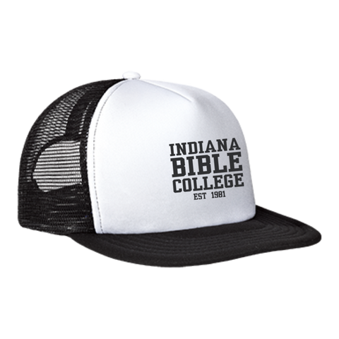 Image of IBC - Clean Text - Trucker Hat with Snapback - Kick Merch - 4
