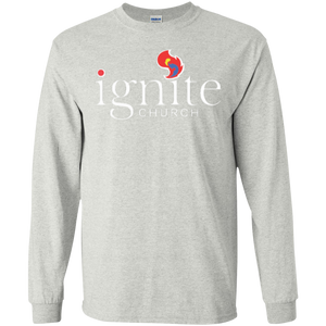IGNITE church - LS Cotton Tshirt - Kick Merch - 1