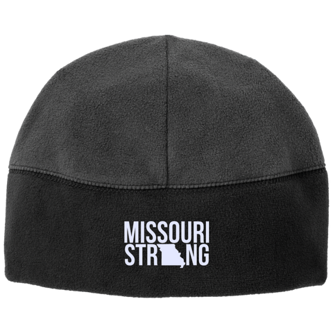 Image of MO Strong - Fleece Beanie - Kick Merch - 1