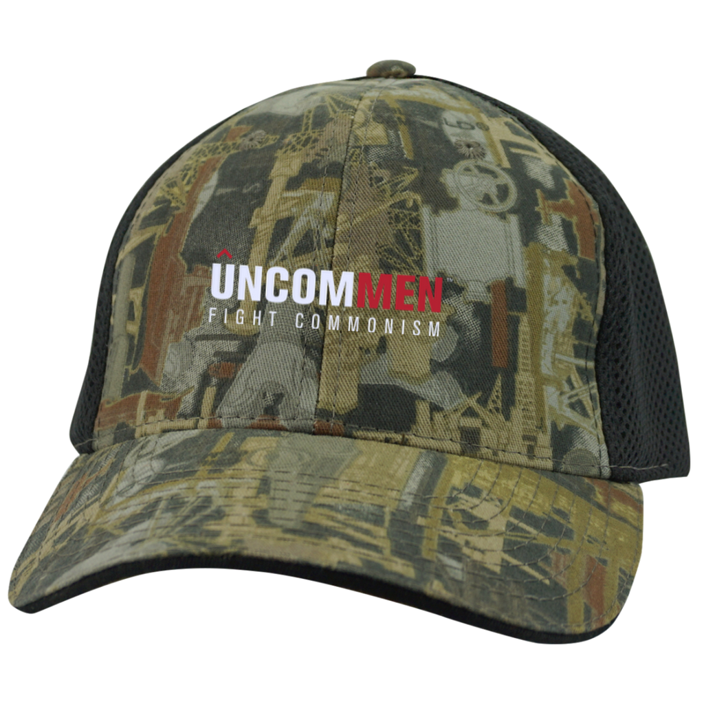 UNCOMMEN Fight Commonism - Camo Cap with Mesh