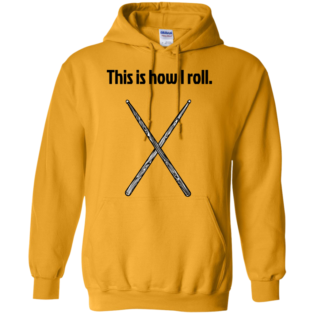 This is how I Roll - Pullover Hoodie - Purple Bee Designs - Kick Merch - 4