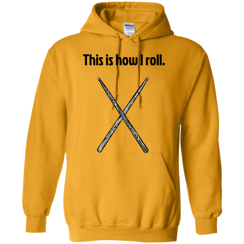 Image of This is how I Roll - Pullover Hoodie - Purple Bee Designs - Kick Merch - 4