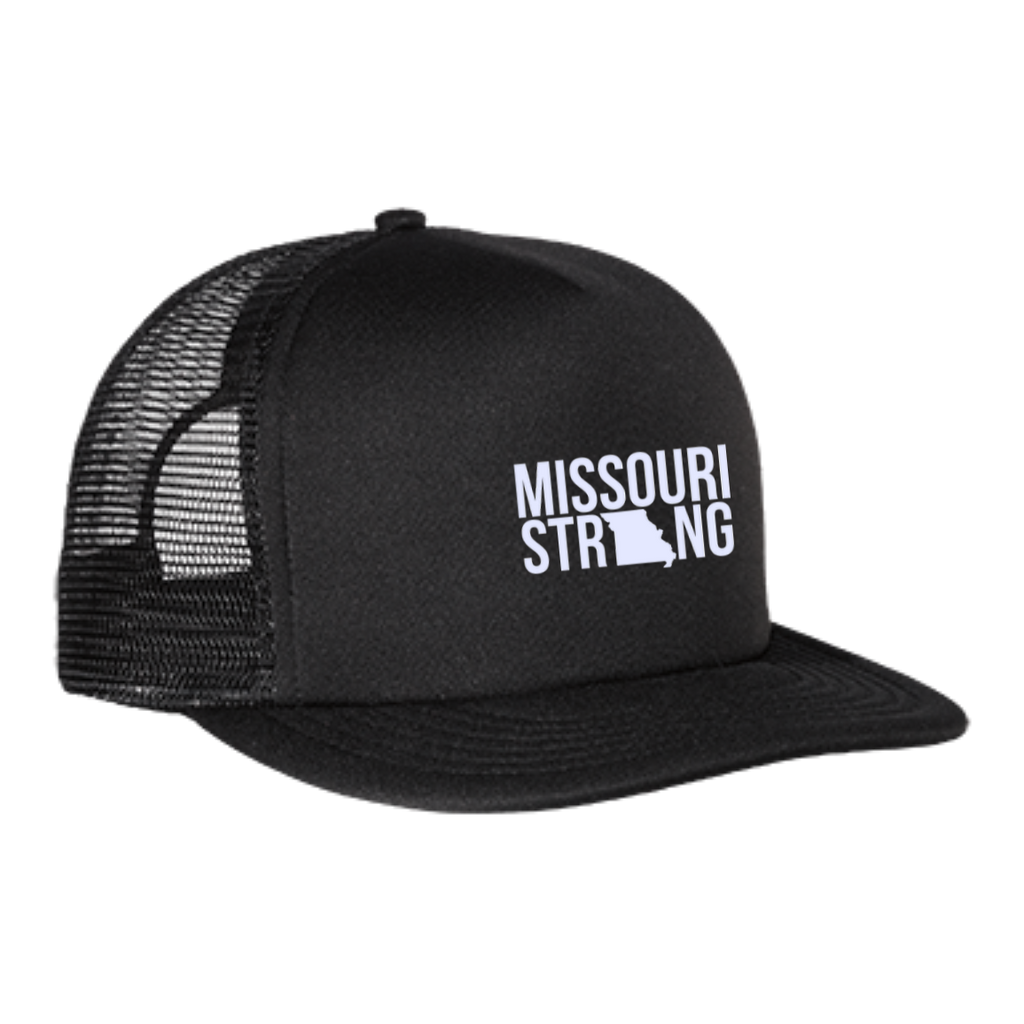 MO Strong - Trucker Hat with Snapback - Kick Merch - 1