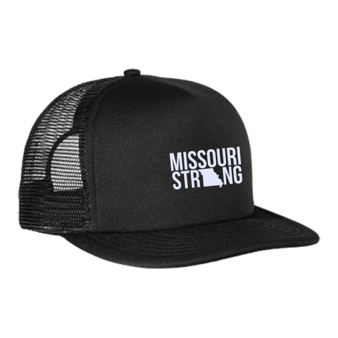 Image of MO Strong - Trucker Hat with Snapback - Kick Merch - 1