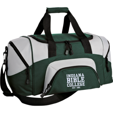 Small Colorblock Sport Duffel Bag - Kick Merch - 2