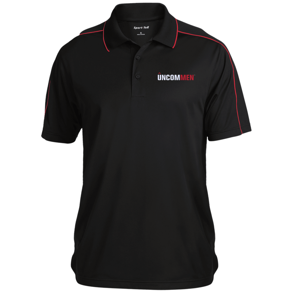 UNCOMMEN Logo - Micropique Sport-Wick Piped Polo