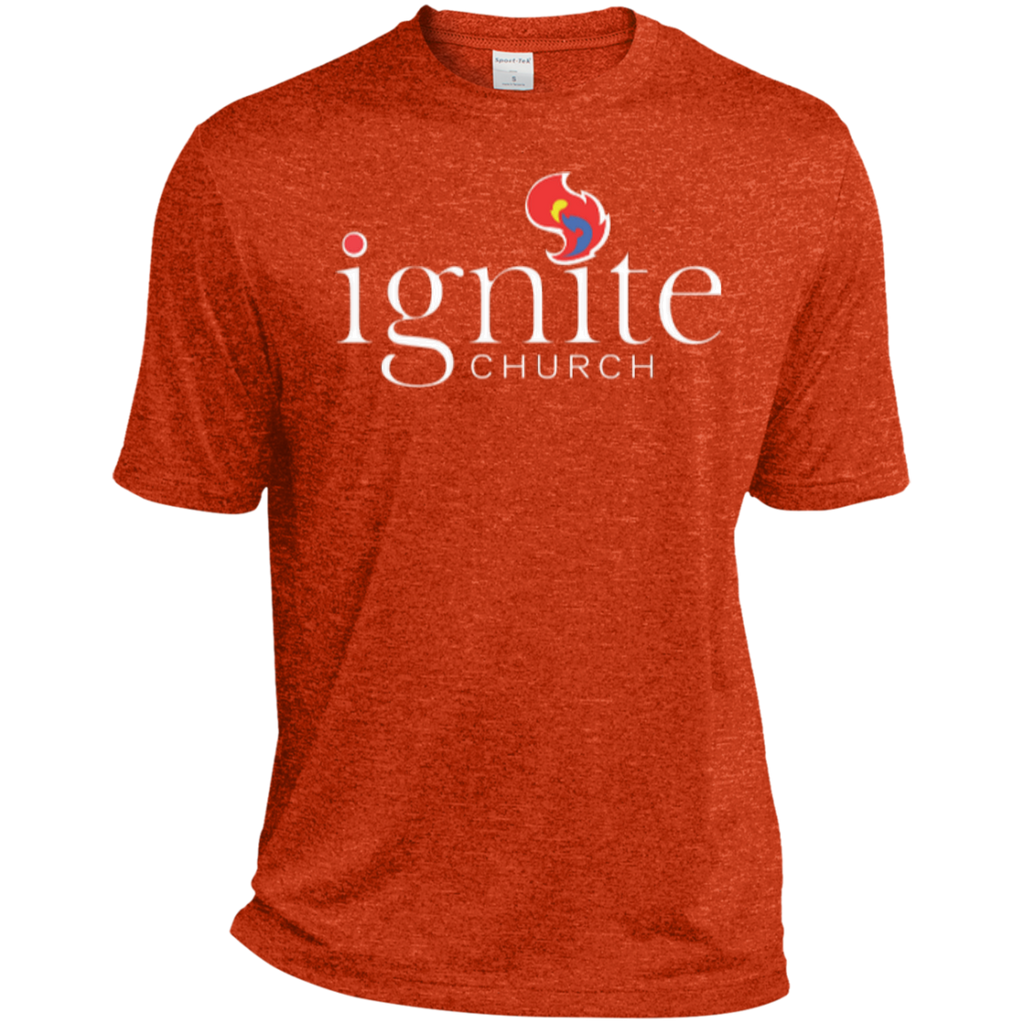 IGNITE church - TALL Heather Dri-Fit Moisture-Wicking Tee - Kick Merch - 3