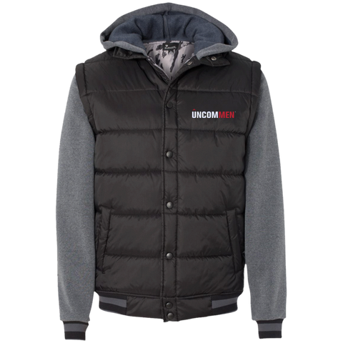 Image of UNCOMMEN Logo - Nylon Vest with Fleece Sleeves