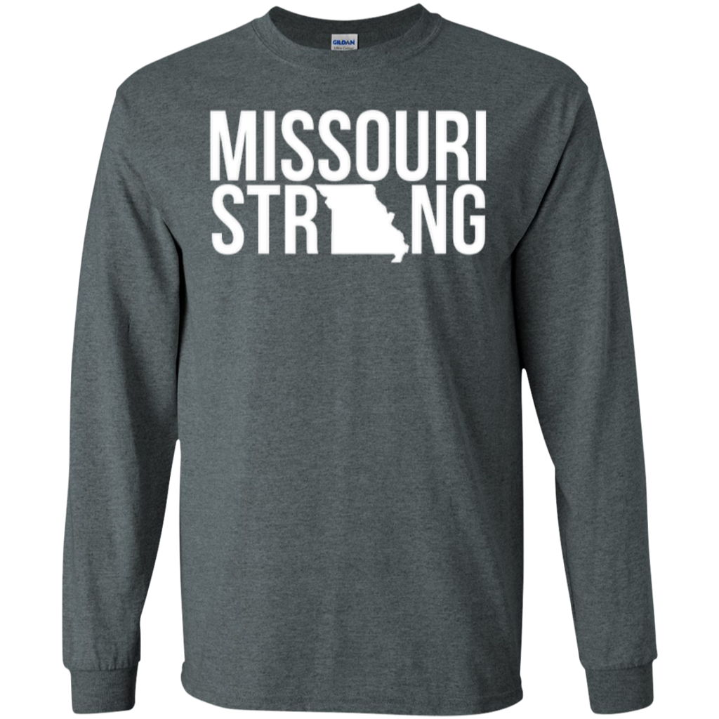 MO Strong - Long Sleeve T shirt - Kick Merch - 3