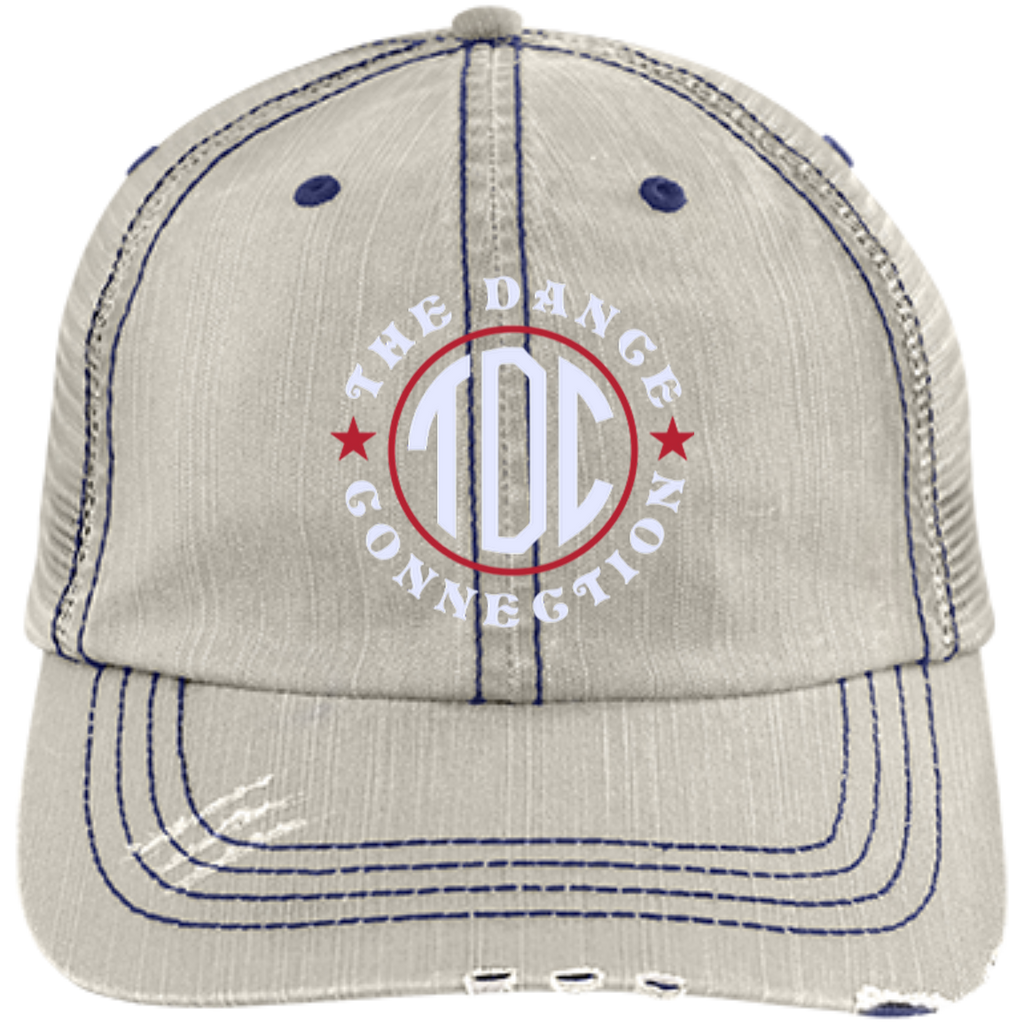 TDC - Distressed Unstructured Trucker Cap