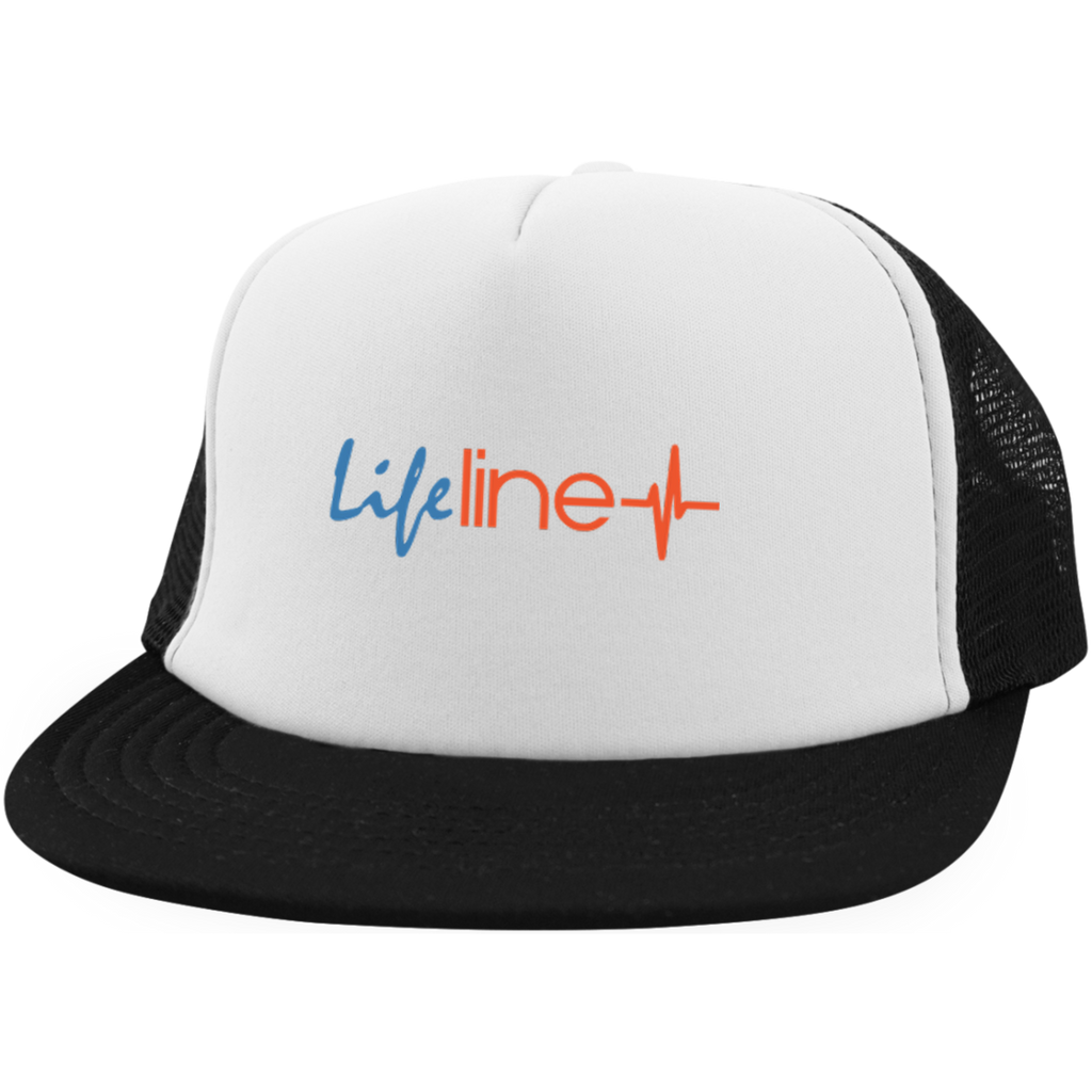 LIFE Line Trucker Hat with Snapback