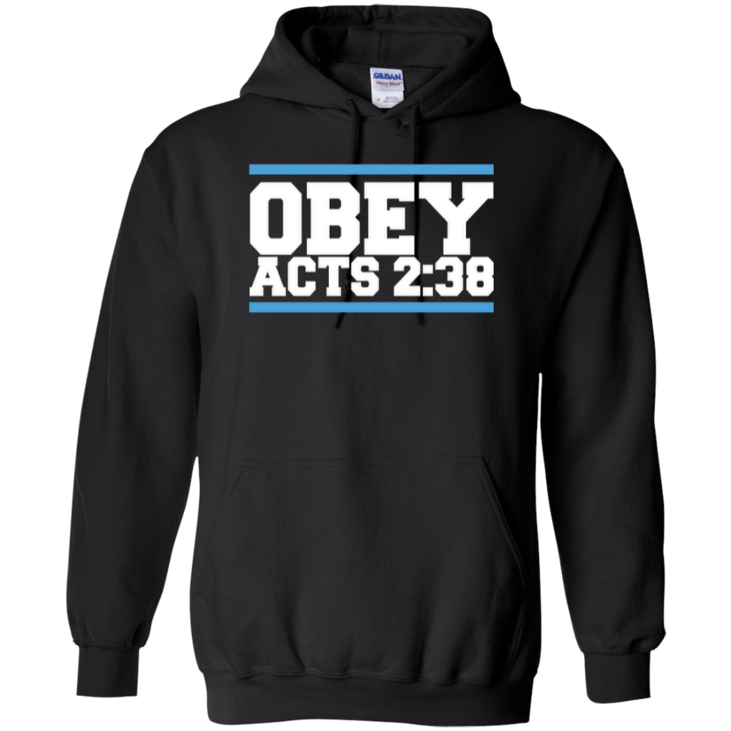Obey Acts 2:38 - Pullover Hoodie - Kick Merch - 1