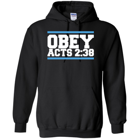 Image of Obey Acts 2:38 - Pullover Hoodie - Kick Merch - 1