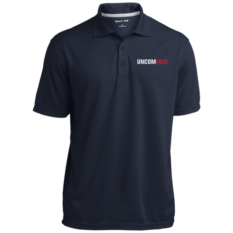 Image of UNCOMMEN Logo - Micro-Mesh Three Buttoned Polo