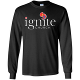 IGNITE church - LS Cotton Tshirt - Kick Merch - 2