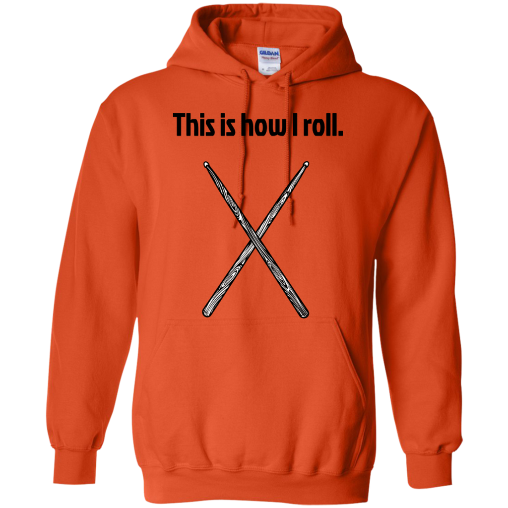 This is how I Roll - Pullover Hoodie - Purple Bee Designs - Kick Merch - 9