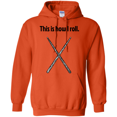 Image of This is how I Roll - Pullover Hoodie - Purple Bee Designs - Kick Merch - 9