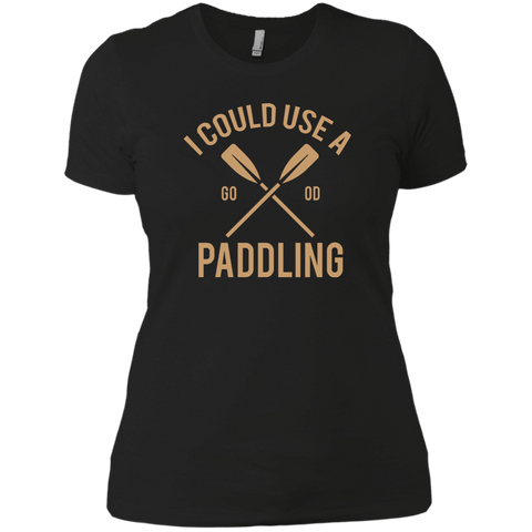 Image of I Could Use A Paddling