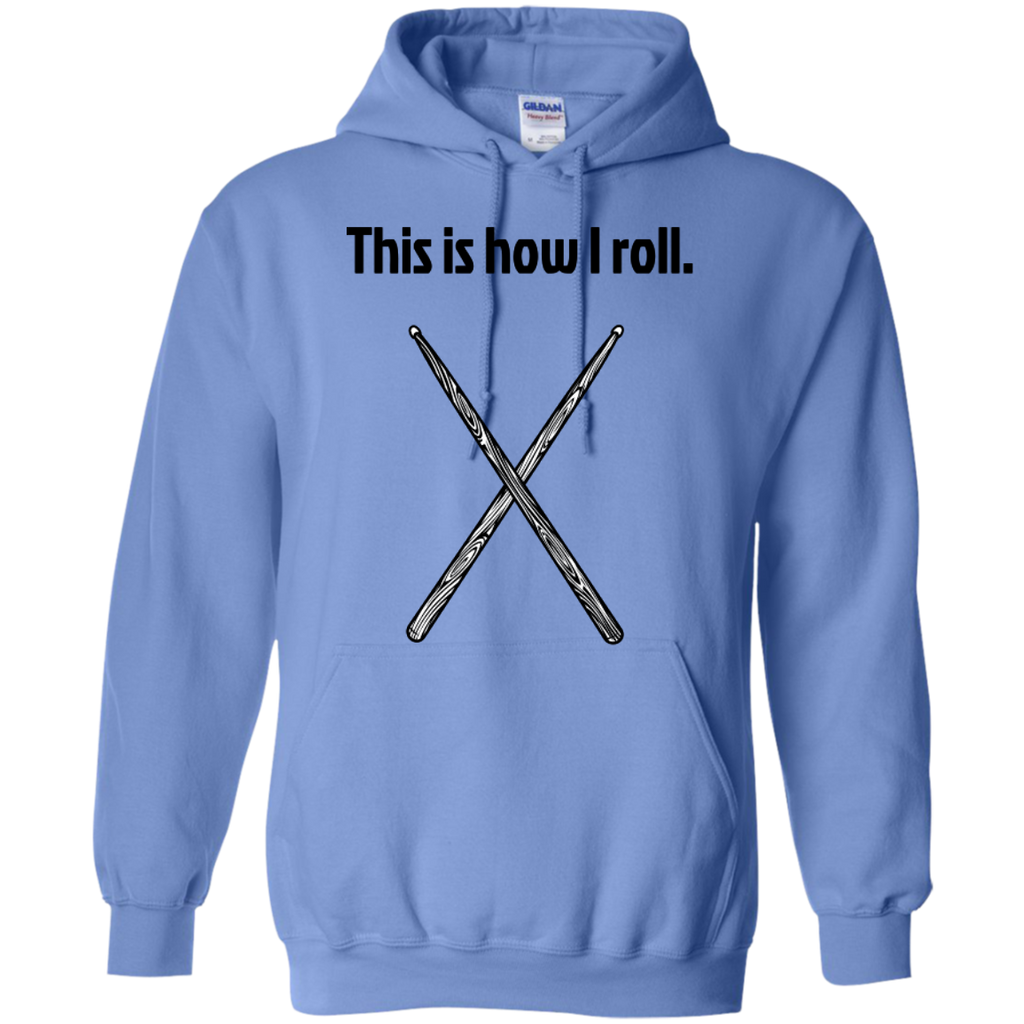 This is how I Roll - Pullover Hoodie - Purple Bee Designs - Kick Merch - 3
