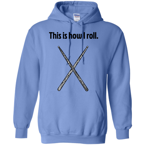 Image of This is how I Roll - Pullover Hoodie - Purple Bee Designs - Kick Merch - 3