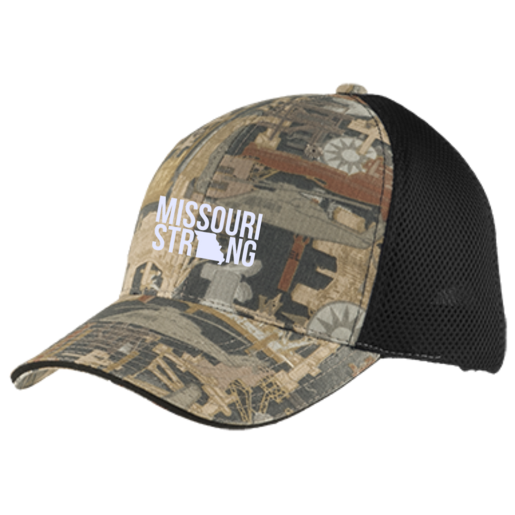 MO Strong - Camo Cap with Mesh - Kick Merch - 2