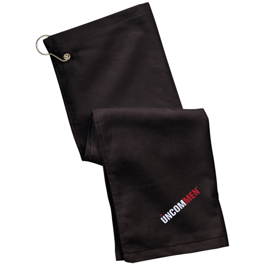 UNCOMMEN Logo - Grommeted Golf Towel