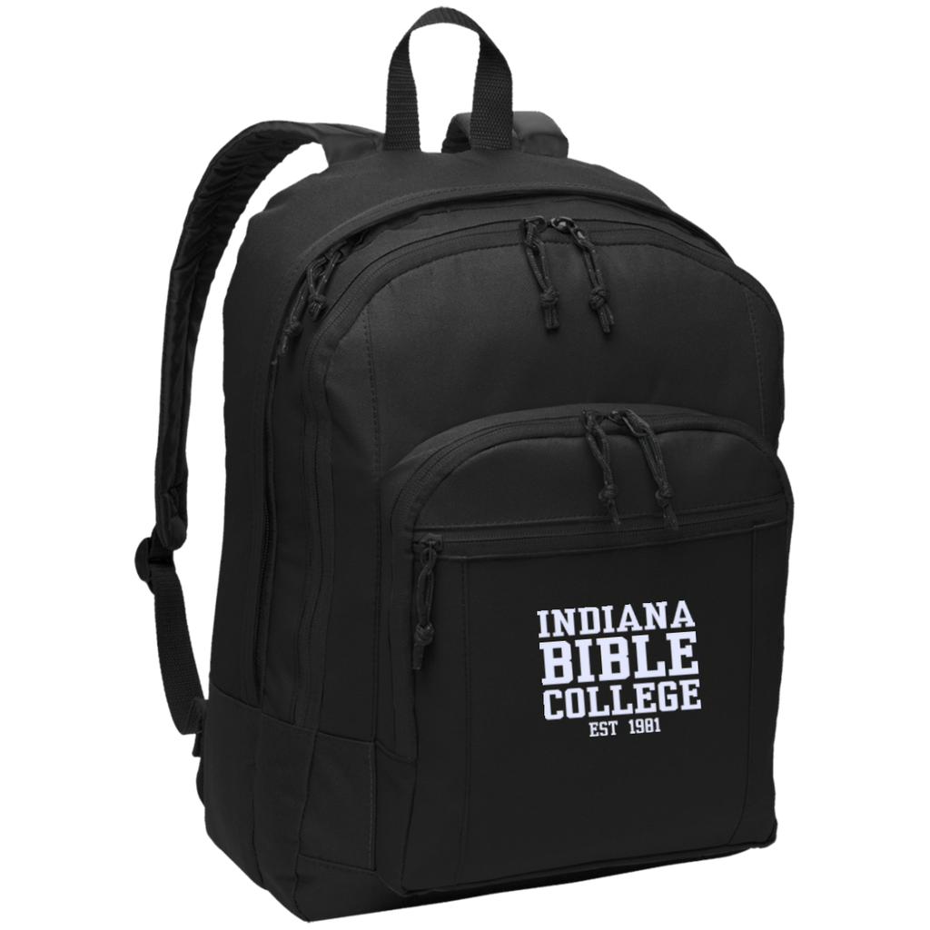 IBC - Basic Backpack - Clean Text Design - Kick Merch - 2