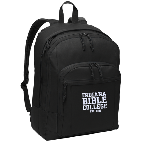 Image of IBC - Basic Backpack - Clean Text Design - Kick Merch - 2