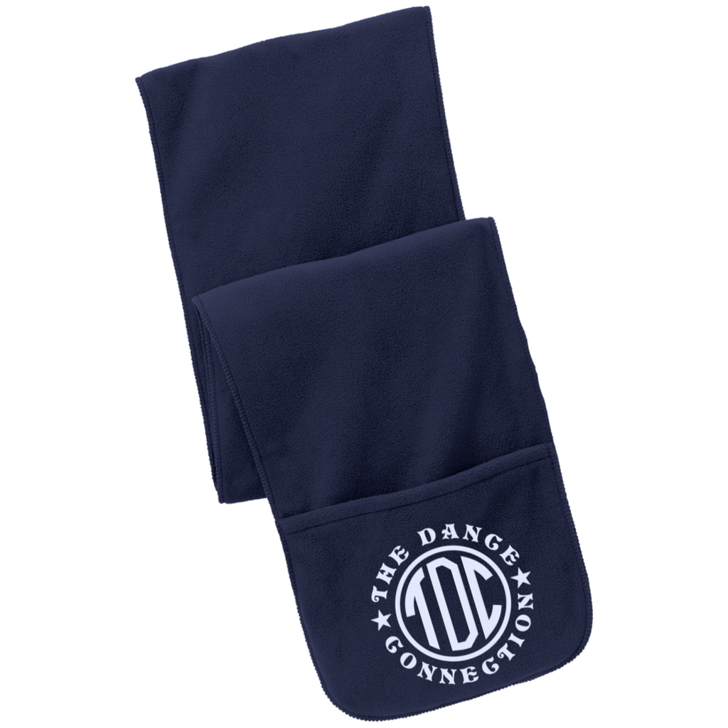 TDC - Fleece Scarf with Pockets