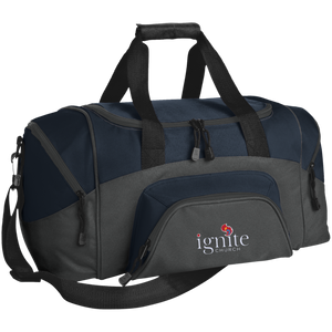 IGNITE Church - Small Colorblock Sport Duffel Bag