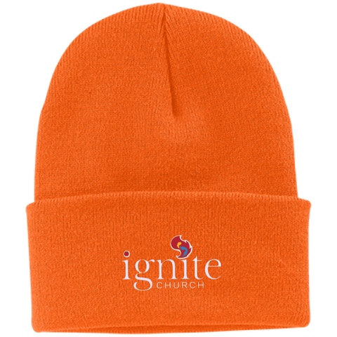 Image of IGNITE church - Knit Cap - Kick Merch - 11