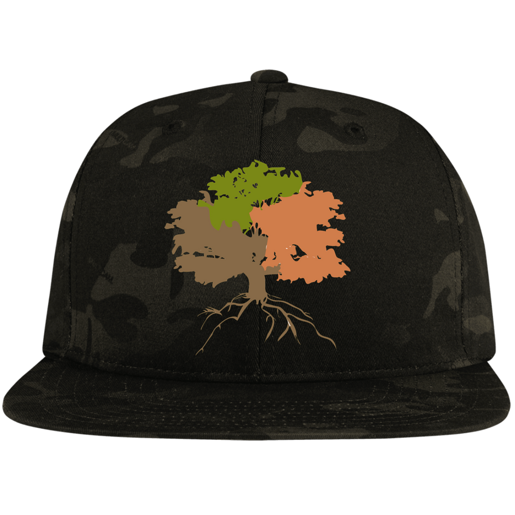 The Sanctuary - Flat Bill Snapback Hat