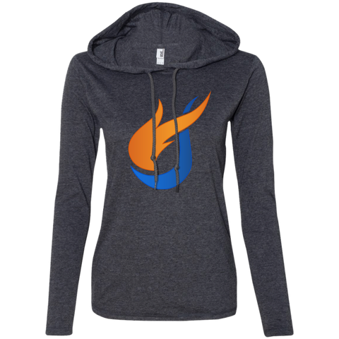 The Pentecostals Of Cooper City - Ladies' LS T-Shirt Hoodie