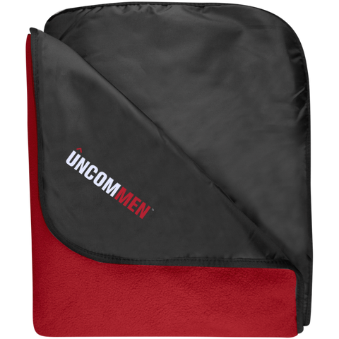 Image of UNCOMMEN Logo - Fleece & Poly Travel Blanket