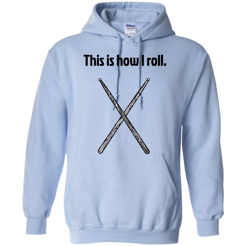 This is how I Roll - Pullover Hoodie - Purple Bee Designs - Kick Merch - 7