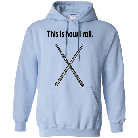 Image of This is how I Roll - Pullover Hoodie - Purple Bee Designs - Kick Merch - 7