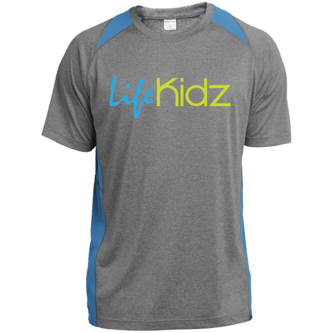 Image of LIFE Kidz Youth Colorblock Performance Tee