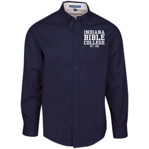 Image of IBC - Men's LS Dress Shirt