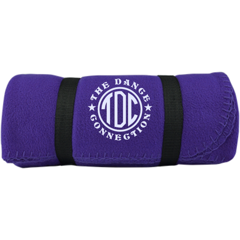 Image of TDC - Fleece Blanket with Strap