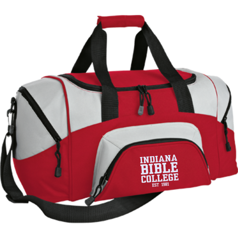 Small Colorblock Sport Duffel Bag - Kick Merch - 5